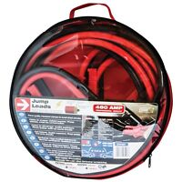 Sumex 12/24v 4.5m Heavy Duty Jump Start Booster Cable Leads -Petrol & Diesel Car