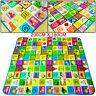 KIDS CRAWLING 2 SIDE SOFT FOAM EDUCATIONAL GAME PLAY MAT PICNIC CARPET 200X180CM