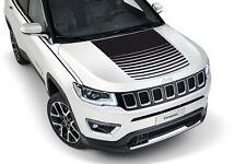 Hood decal for Jeep Compass Trailhawk graphics kits