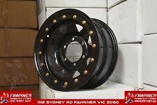 Steel Sunraysia 8 Spoke Gecko Style 4X4Wheel 15X7 6X139.7 +13 Beadlock Imitation