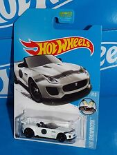 Hot Wheels 2016 HW Showroom Series '15 Jaguar F-Type Project 7 Kmart KDays White
