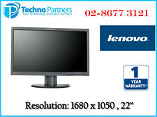 """Lenovo ThinkVision LT2251p 22"""" in Widescreen 16:10 LCD LED Monitor 1Yr Warranty"""