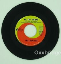 BEATLES I'll Cry Instead/I'm Happy Just CAPITOL 5234 w/Out SUBSIDIARY The UK