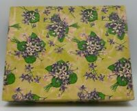 Vintage 1950's Paper Wrapped Empty Gift Box BIN 9