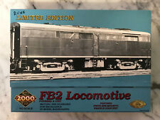 Life Like Proto 2000 HO New York Central FB2 Powered Diesel Locomotive Tested
