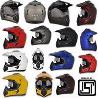 Vega Multi Choice Motorbike Off Road Full Face Motocross Motorcycle Bike Helmets