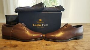 Loake 1880 aldwych dark brown 8.5UK F