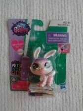 Littlest Pet Shop Ritzy Speedster Pink Bunny 203 Sweetheart Pets in the City LPS