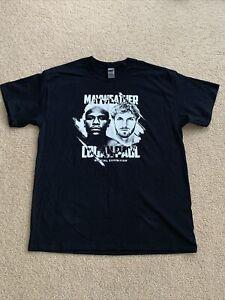 Logan Paul Vs. Floyd Mayweather Boxing Exhibition Shirt Size LARGE