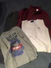4 items  Boys Lot size 5  Polo, Calvin Klein, Old Navy and Great Buy