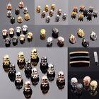 Zircon Gemstones Star War Crown Superman Helmet Bracelet Connector Charm Beads