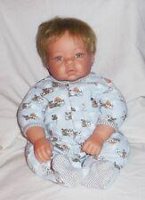 "Lee Middleton Munchkin Doll blonde hair blue eyes 19"" tall Reva 2000"