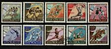 Russia 1960 Rome Olympic Games Complete Set Of Ten Stamps - MUH/CTO