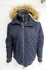 Superdry Men's Everest Navy Blue Parka/Coat Size Large L Brand New With Tags