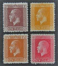 nystamps British New Zealand Stamp # 154//164 Mint OG H $31   L23x3100