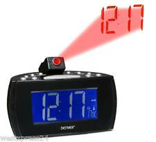 DENVER® Radiowecker CRP-514 mit Projektion der Uhrzeit an Wand + Decke