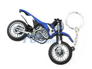 Motocross Dirt Bike Rubber Key Chain Yamaha WR TTR I KC04