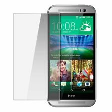 For HTC One M8 Premium Tempered Glass Screen Protector Case Friendly