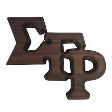 Sigma Gamma Rho (#GP) Small Wood Letter Pin
