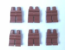 Lego 6  Leg  Legs Lower Parts For Minifigure Figure   Brown Star Wars