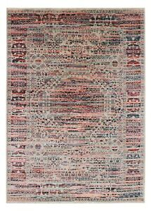 Mamluk Multicolor 5'7''x7'10'' ft Antique Style Handknotted Wool & Silk Area Rug