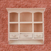 Puppenhaus Miniatur Möbel, Bücherregal Bücherschrank Modell aus Holz,