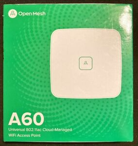 Open Mesh A60 Universal 802.11ac WiFi Access Point (867Mbps 2 Ports Tri-band)