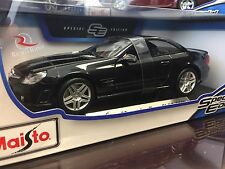 Maisto 1:18 Diecast Model Car - Mercedes-Benz SL65 AMG (Black)