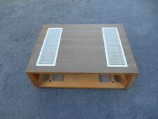 Stereo receiver wood cabinet Japanese Nippon Panasonic