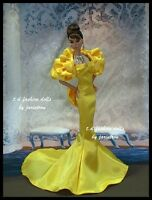 Gown Outfit Dress for Fashion Royalty Silkstone Barbie doll by t.d.fasiondolls
