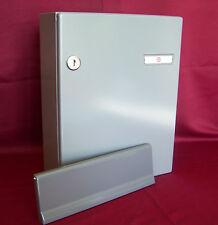 Briefkastenanlage Innentür Renz grau 260 Komplettset Briefeinwurfklappe KAH41