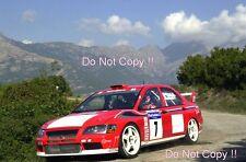 Tommi Makinen Mitsubishi Lancer Evo WRC Tour De Corse Rally 2001 Photograph 4