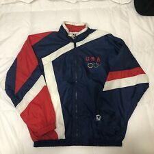 Vintage Team USA Olympics Starter Windbreaker Jacket XL