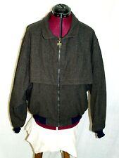 Vintage1980`s Pendleton Wool zip-up cruiser Jacket men`s Large Made in Usa