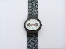 RARE LIMITED EDITION VOLKSWAGEN BEETLE BUG WATCH WHITE FACE w BLACK STRAP