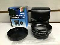 RCA model LX153 Camcorder Telephoto Lens Made In Japan