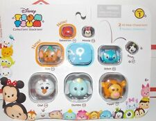 Disney Tsum Tsum Series 1 - 9 Pack Figures OLAF ,DUMBO, TIGGER,STITCH,SEBASTIAN,
