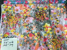 1 Lot - Designer Fabric -Eight Pieces 1-4 yds -All Imported Silk, Linen