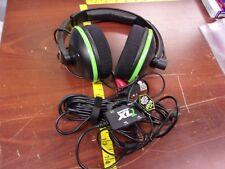 Turtle Beach Ear Force XL1 Black/Green Headband Headsets