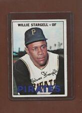 1967 Topps #140 Willie Stargell, Pittsburgh Pirates, HOF, VG-EX!