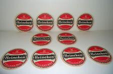 Set of 10 New Old Stock Collectible HEINEKEN Holland Beer / Drink COASTERS
