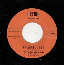 RARE PHILLY DOOWOP-TONY/MASQUINS-RUTHIE 1000-MY ANGEL EYES/FUGI WOMMA