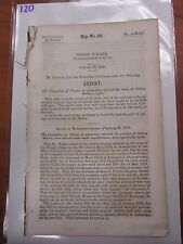 Gov Report 1850 Gideon Walker US Army Brownsville PA Capt Richard Sparks #720