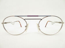 Vintage Rundbrille Panto 49□24 Brillengestell rund Brille Designer eyewear NEU