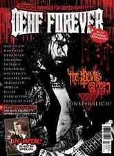 DEAF FOREVER #6 (NEW*GER METAL MAG*US METAL SPECIAL*THE DEVIL'S BLOOD + POSTER)