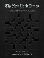 New York Times Sunday Crossword Puzzles 2020 Weekly Planner Diary