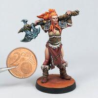 Irya - Barbarian Bite the Bullet Tribal 32mm Fantasy Fantasy D&D mini Icewind