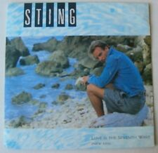 STING (SP 45T)   LOVE IS THE SEVENTH WAVE