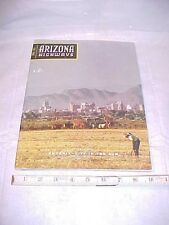 1957 Arizona Highways Magazine: Phoenix - City in the Sun Fertile Fields APRIL