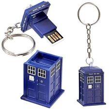 DOCTOR WHO. TARDIS 8 GB USB Stick Flash Memory. Memoria USB. UNDERGROUND TOYS